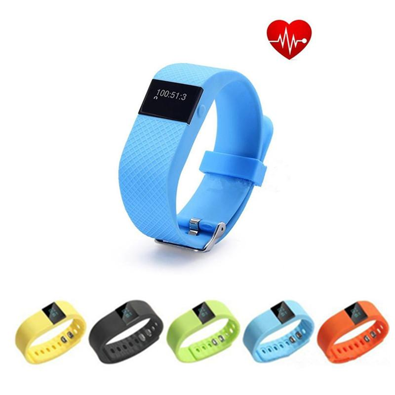 FITBIT TW64 Bluetooth Smartband Heart Rate Monitor Activity Sleep Wristband Smart Bracelet For Iphone Andriod Phone With Retail Package