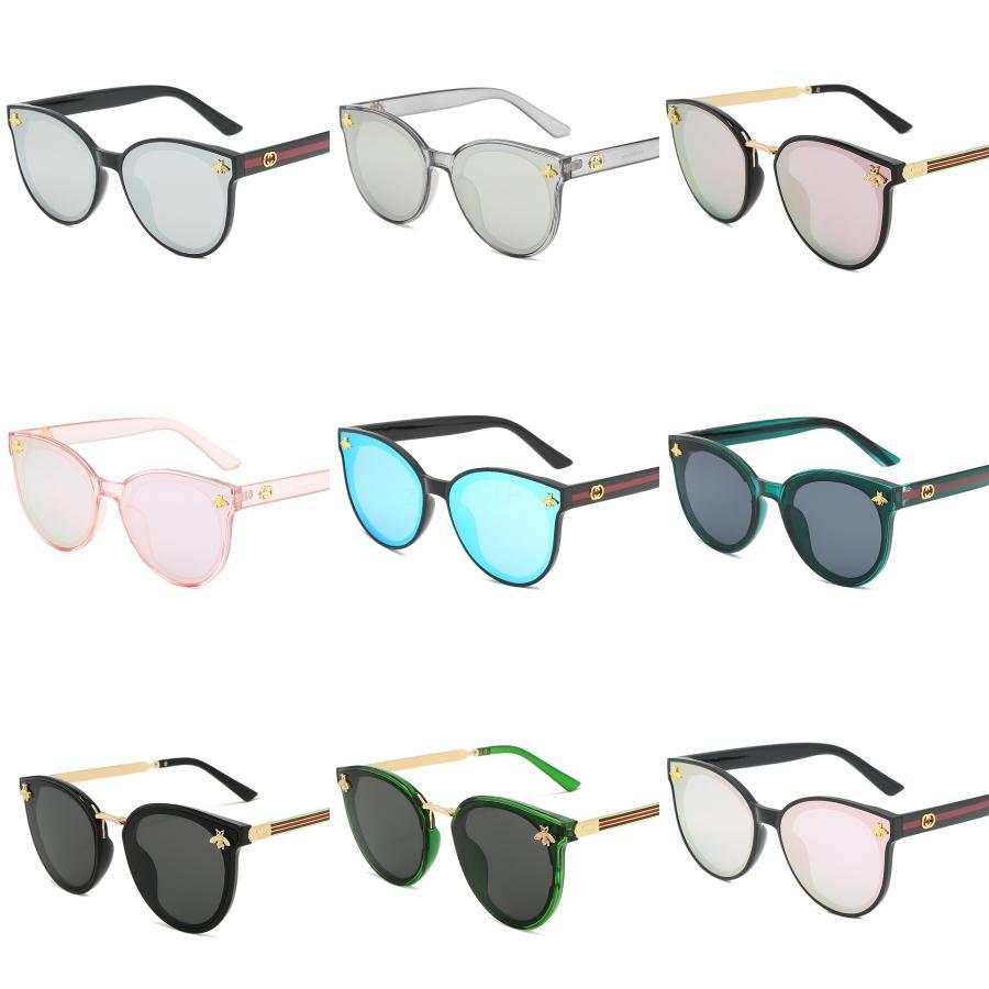 La forma del corazón del amor de la manera del marco multicolor gafas de sol UV400 Partido vasos de plástico barato vidrios de Sun de 13 colores # 956