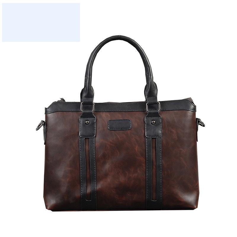 حقائب الرجال حقائب اليد القصير المحامي جلدية حقيبة كمبيوتر محمول حقيبة الكتف حقيبة كتف مكتب للماء حقيبة المحمولة ل xiaomi lenovo wjj