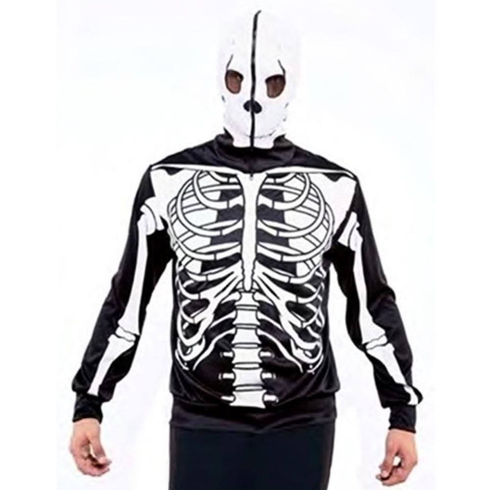 Crâne imprimé 3D automne Hoodies Hommes Femmes à capuche Pull Marque 3XL Qaulity Survêtements Boy Manteaux Mode Outwear Nouveau CX200722