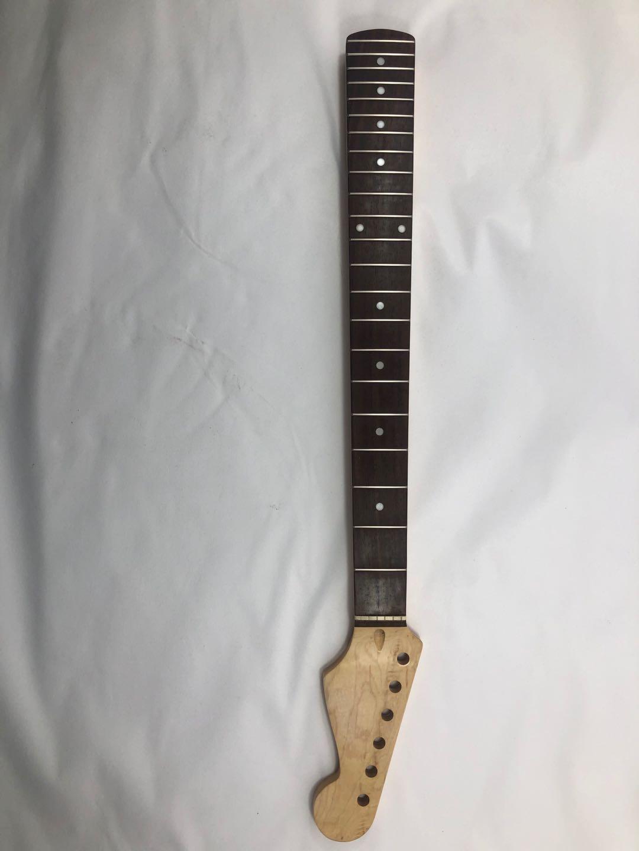 الغيتار الكهربائي العنق 22 مع نقاط البطانة البيضاء TL روزوود الأصابع عالية الجودة القيقب الرقبة