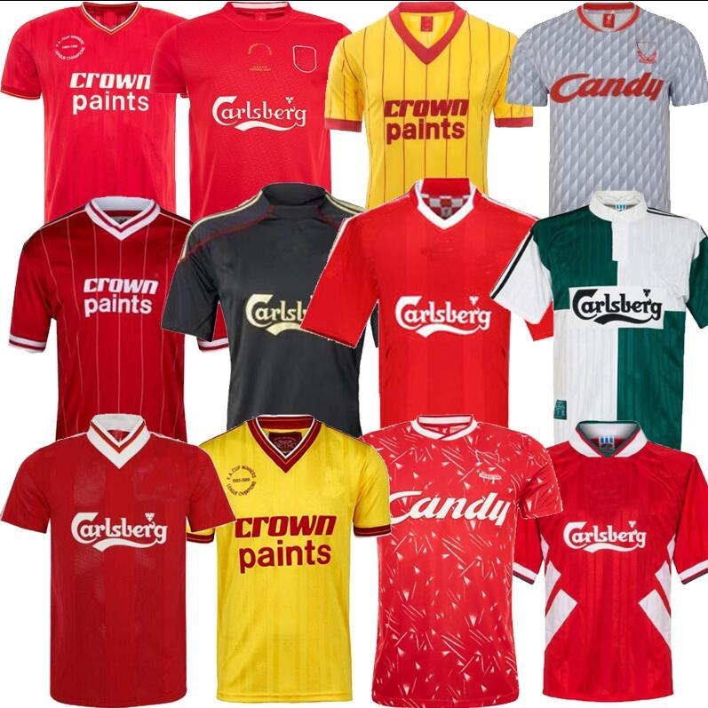 Gerrard Barnes Retro Futbol Forma 2005 Owen Dalglish 00 01 96 97 10 11 TORRES 08 09 82 89 91 85 86 Keane Futbol Gömlek
