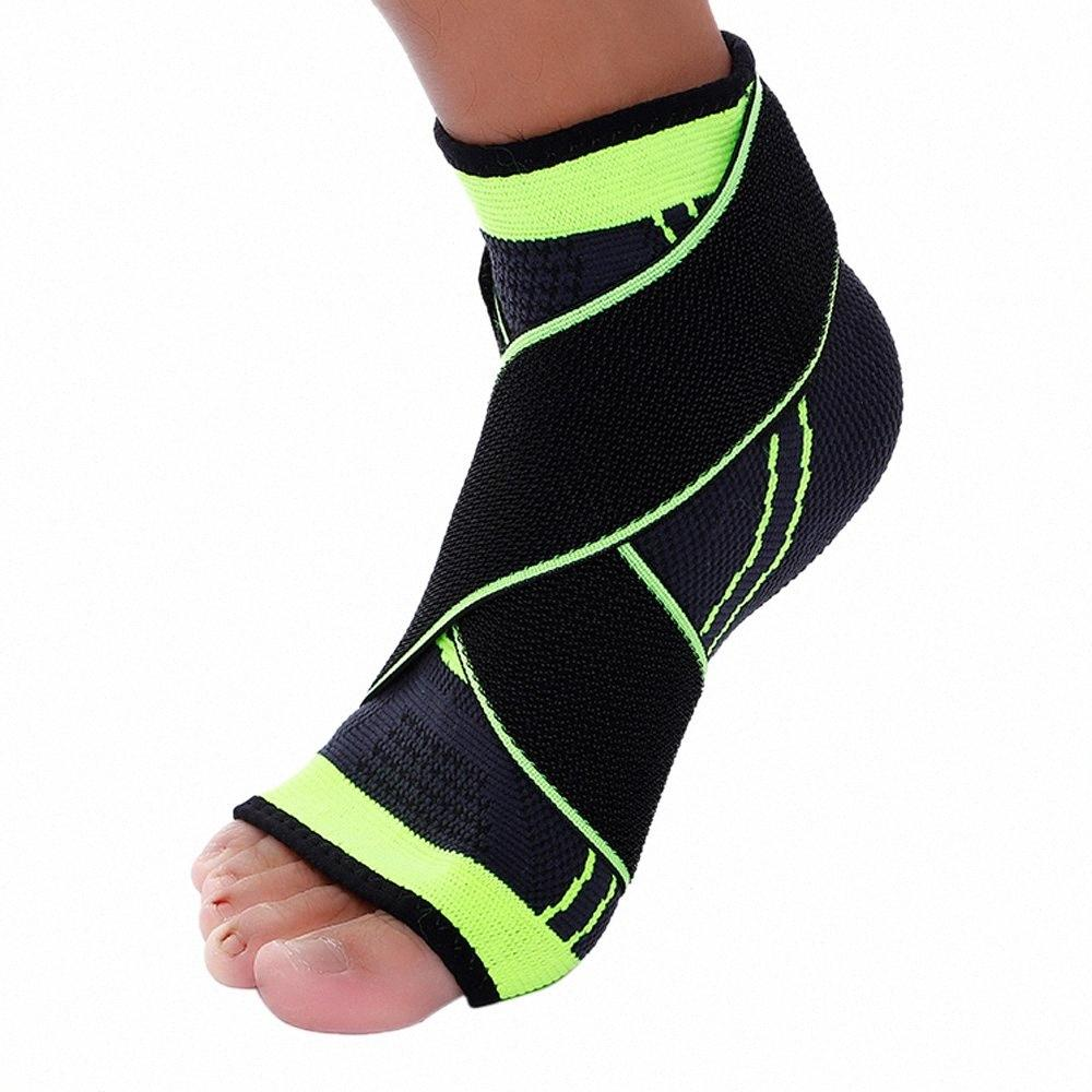 High Quality Ankle Support Sports Straps Ankle Elastic Pressure Basketball Anti-Spin Protective Gear Bandage Warm Brace AJbG#