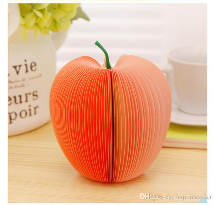 10PC Fruit Scrapbooking Note Memo Pads Portable Scratch Paper Notepads Post Sticky DIY Apple Pear Shape Convenience Stickers AL03