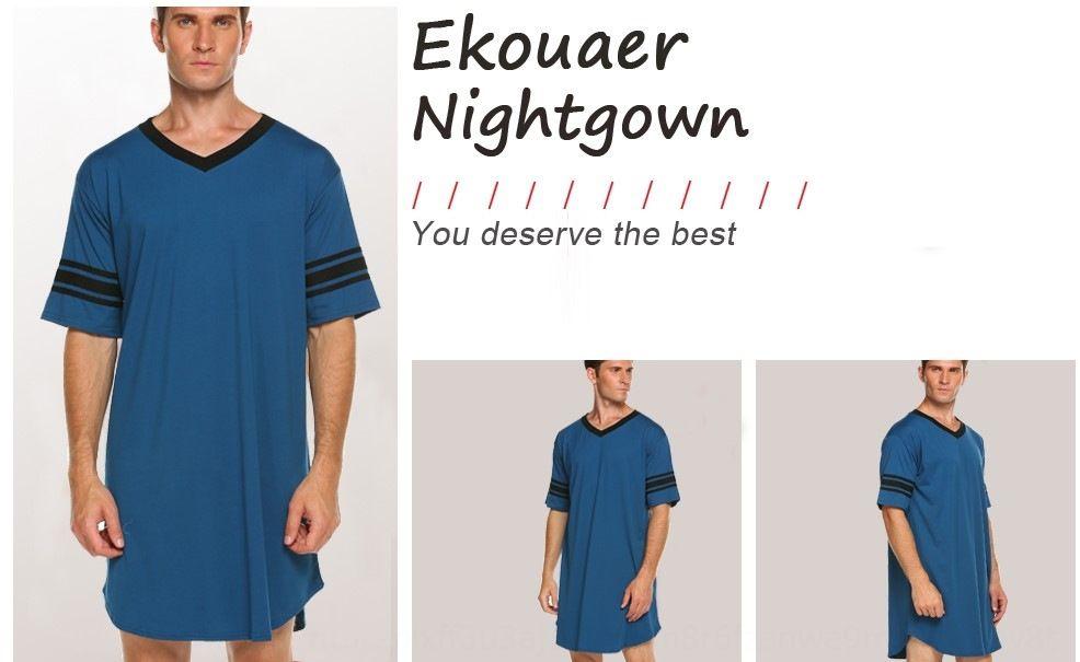 k1KBx Couple V-neck solid multi short-sleeved loose comfortable Leisure Couple V-neck solid color pajamas multicolor short-sleeved loose com