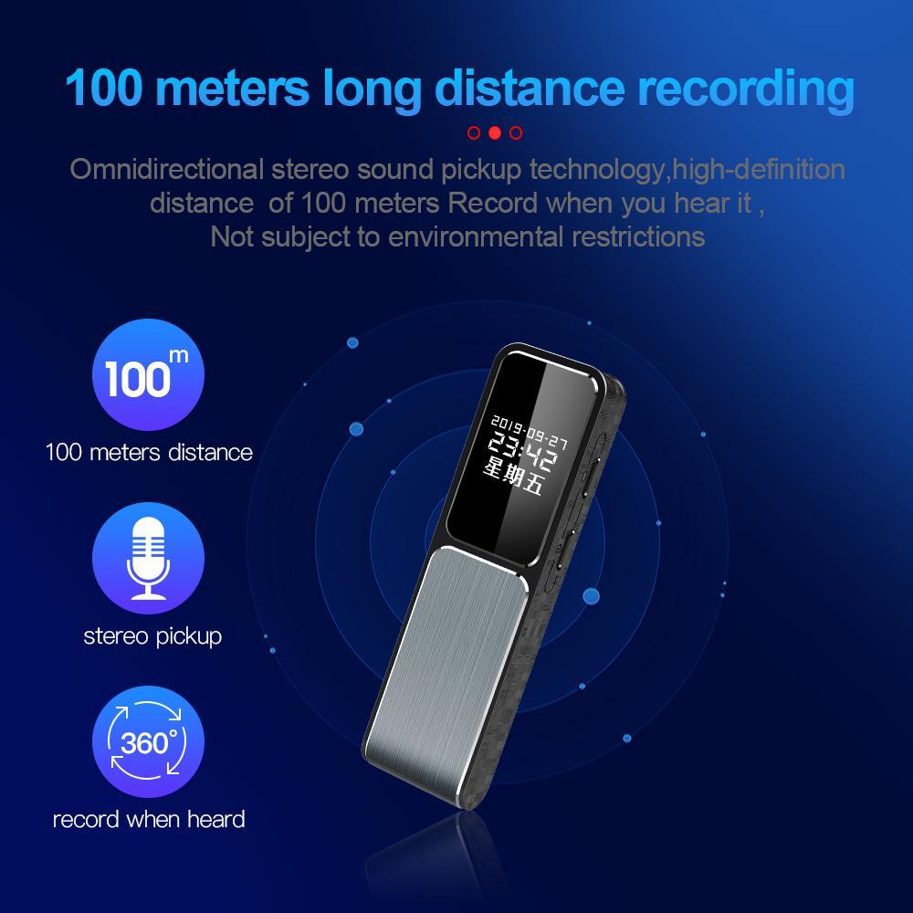Full HD mini macchina fotografica del registratore di sostegno 1080P Video Camera Recorder OTG Telefono Collegamento audio Comodo fotocamera registratore 8GB 16GB 32GB