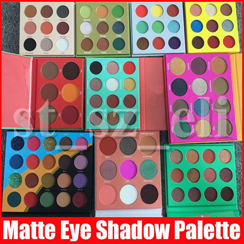 Face Makeup 6color 9color 12color 16 Colors Blush Eyeshadow Palette Matte Shimmer Eye Shadow Palette Valentine Gift