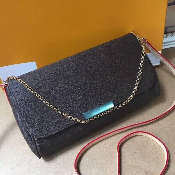Nouveaux Sacs à bandoulière chaîne de haute qualité Sacs Messenger Mode Femmes Sac Fourre-Tout Sacs Hot Sale 40718