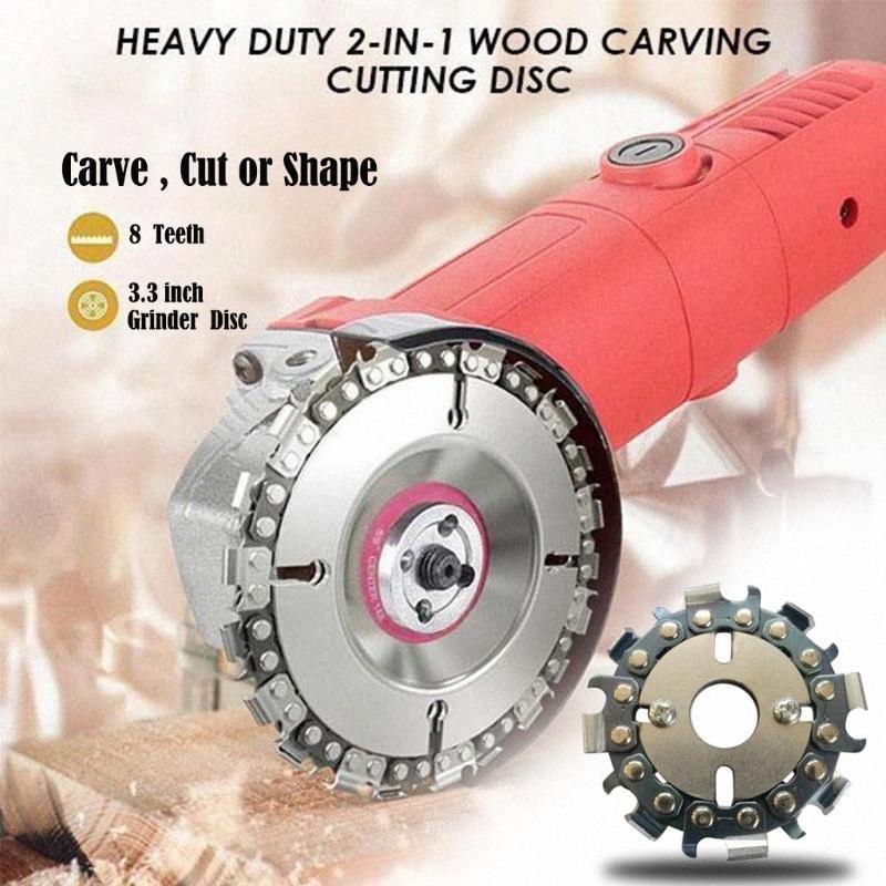 # 25 Mini Heavy Duty talla de corte de 80 mm Disco Para amoladora angular Amoladora angular Wooking Herramientas 2-en-1 de madera # 35 # VfcH