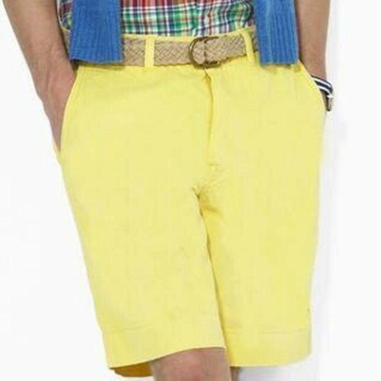 Hommes d'été Shorts de haute qualité couleur solide Plage Casual Pantalon court 2020 Nouvelle arrivée de haute qualité Short confortable Taille M-3XL