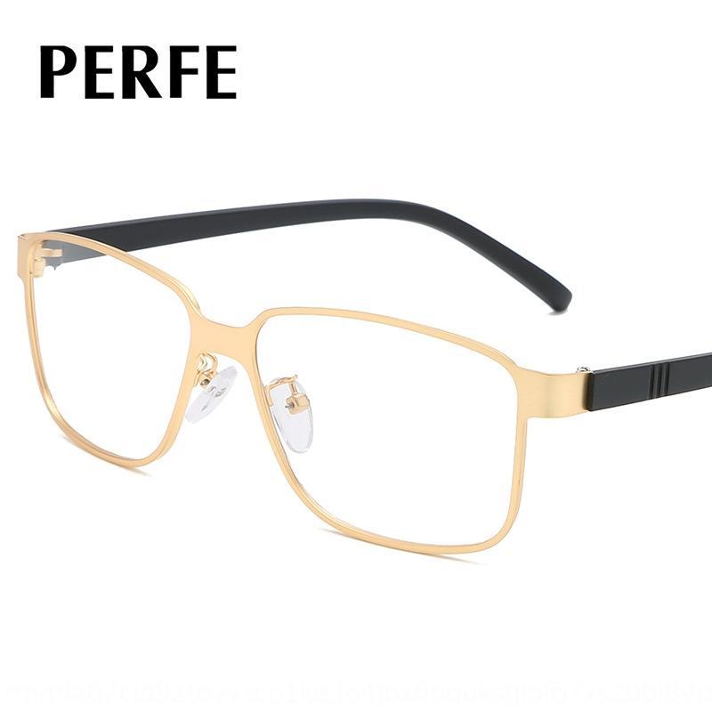erkekler diTG1 için G7007 moda Yeni Metal Gözlük düz iş Erkekler ultra dokusu hafif rahat gözlük çerçevesi