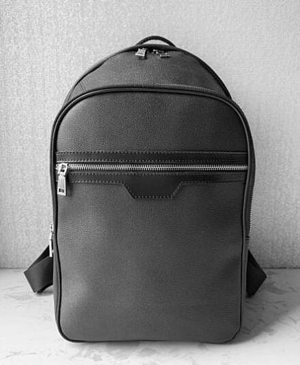 حقيبة جديدة أعلى جودة N58024 الطالب على ظهره حقيبة الظهر رجل أنثى الساخن مزدوجة حقائب الكتف ذكر مدرسة حقائب جلدية الكتف حقيبة جهاز كمبيوتر