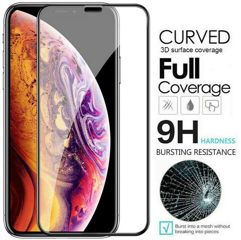 Copertura La copertura in vetro temperato curvo completa della protezione dello schermo Premium Pellicola per iPhone 12 Mini 11 Pro Max XS XR X 8 7 6 6S Plus SE 2020