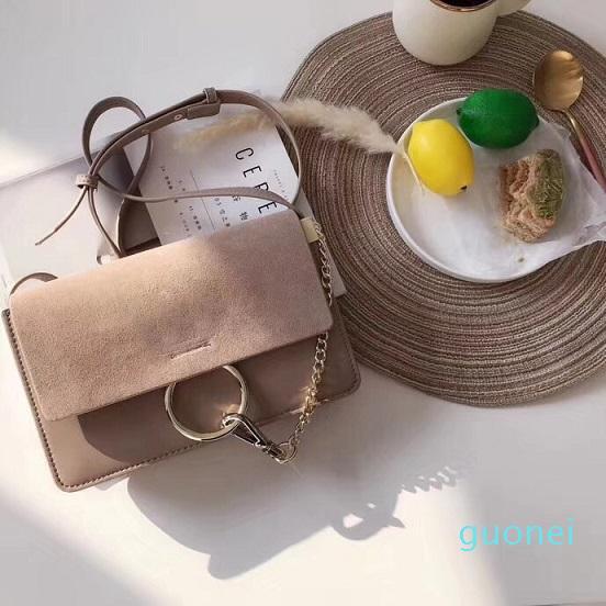 Novas Bolsas de Ombro Mulheres frete grátis Cadeia Crossbody Bag Bolsas Círculo Designer Bolsa de alta qualidade Feminino Crossbag