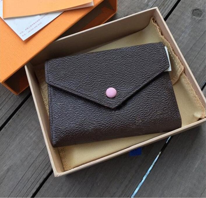 AL00004 Hohe Qualität Brieftasche Tasche Brieftasche Original HASP PU-Leder Neue Karten Münze Kurze Leder Frauen Geldbörse Kleine Halter Avwuv