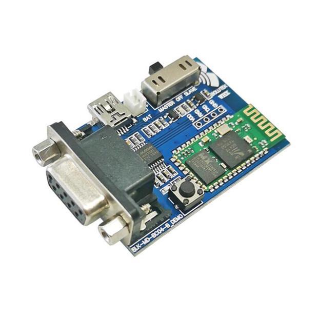 Bluetooth adaptador porta série / Bluetooth para RS232 de porta série / módulo de comunicação Bluetooth Placa de expansão de demonstração