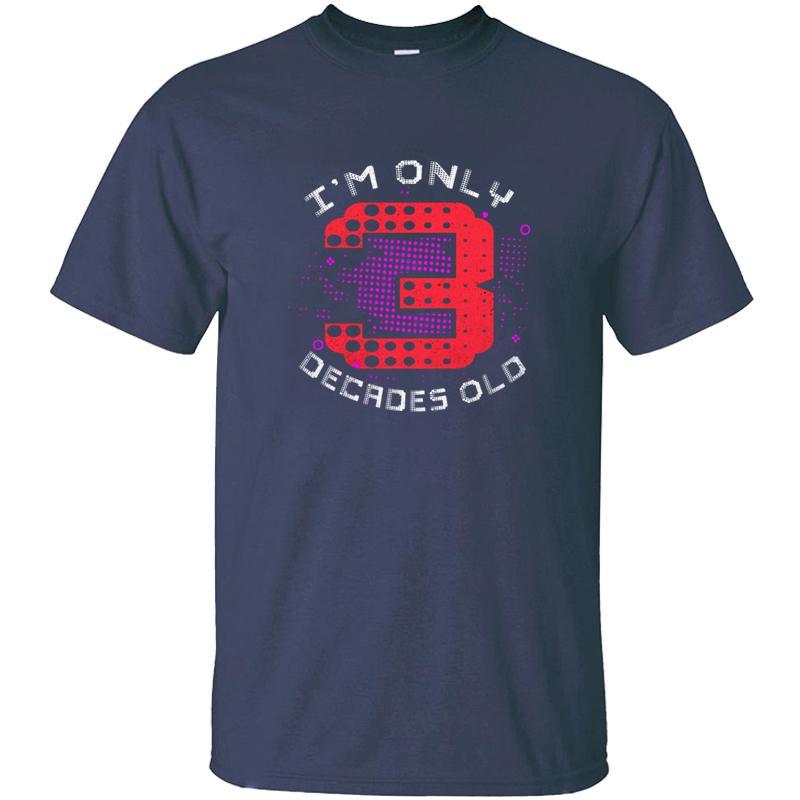Personalisierte Sonnenlicht 30. Geburtstag T-Shirt für Herren-Baumwolle Anti-Falten-schwarzer Männer und Frauen T-Shirts Kurzarm