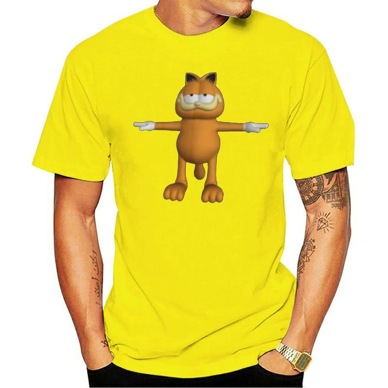 Garfield T Shirt Garfield T Pose T Shirt Beach Plus Size Tee Shirt Male Short Sleeves Cute Graphic 100 Cotton Tshirt White T Shirt Design T Shirt Deals From Lucycloth 21 6 Dhgate Com