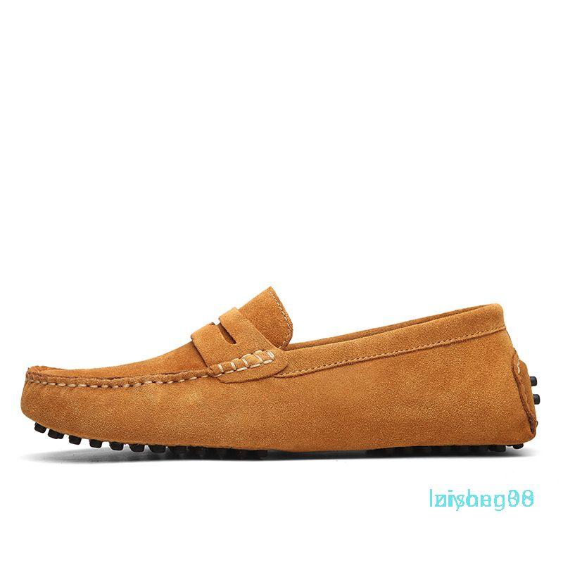 Non-marca fannulloni nuovo progettista scarpe Slip-on mens Chaussures Casual mens vestono scarpe da ginnastica blu rosso nero trasporto libero Formato 40-44L30 Z08