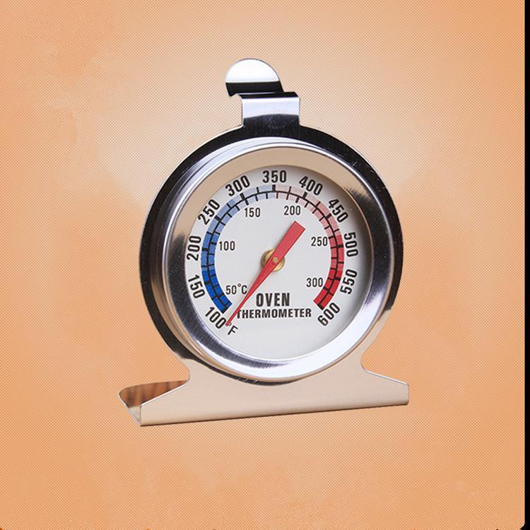 aggiornandoli forno termometro in acciaio inox piedistallo thermomter forno termometro bakeware fino a 600 gradi MY-inf0033