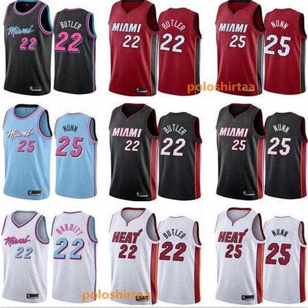 2020 2020 Mens Miami 13 Heat 13 Jerseys Jimmy 22 Butler Kendrick 25 Nunn Stitched Basketball Embroidery Jerseys Black White Pink Blue From Poloshirtpp 17 72 Dhgate Com