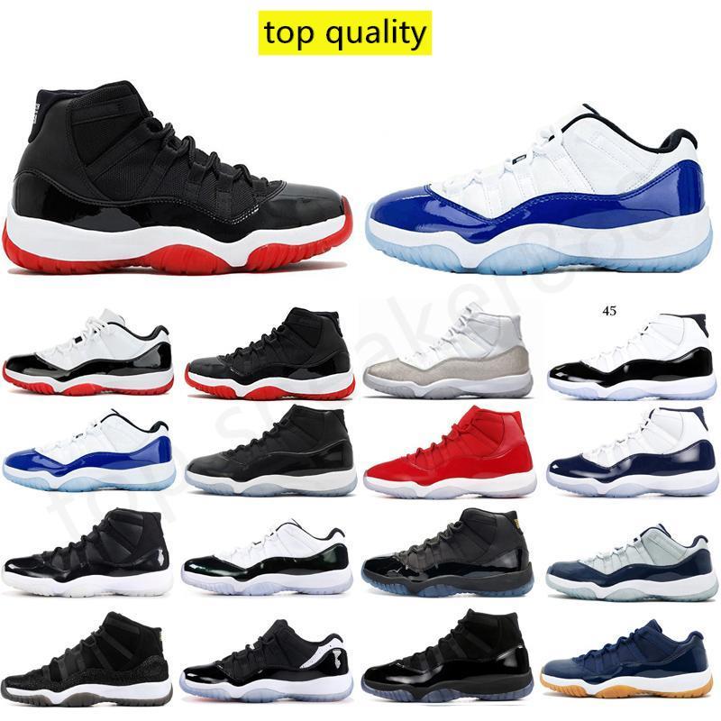 مع صندوق J11 رجل حذاء رياضة أعلى qualtiy ترافيس سكوتس CONCORD BRED CONORD 308٬497-406 حجم 40-46