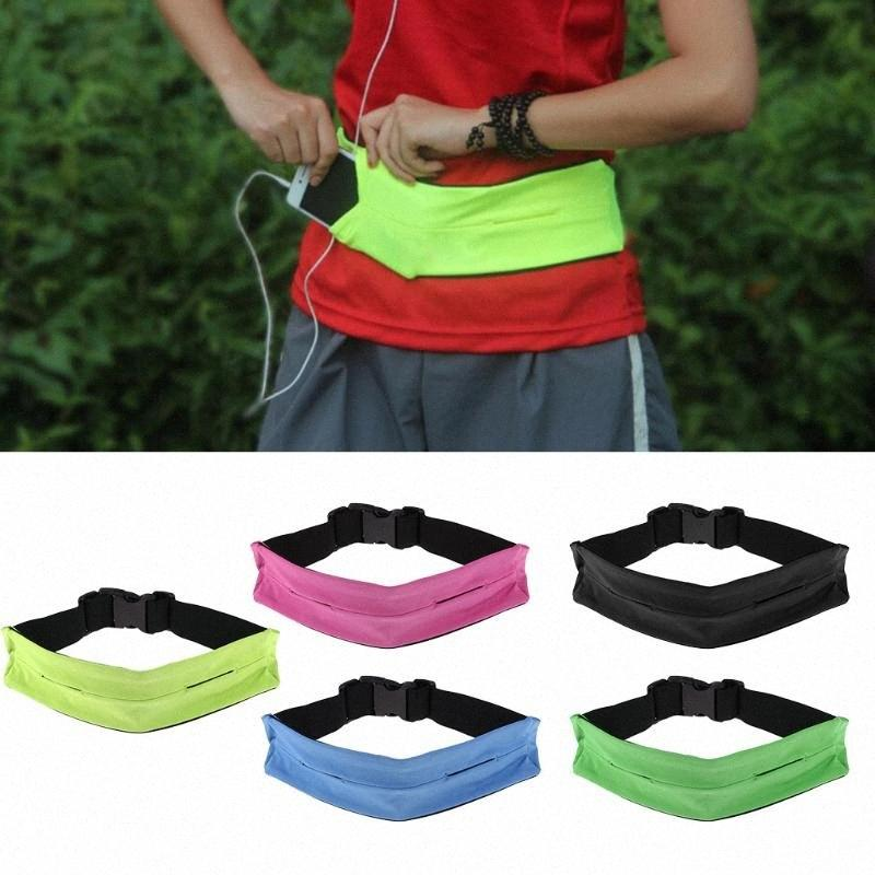 Justierbare Taille Lauf Gurt-Taillen-Beutel-Beutels für Läufer, Joggen, Rennen Yoga im Freien wandernden Sport erkC #