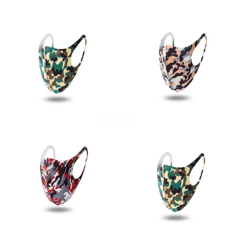 Fedex-freies Nippen 2020 I Silk Radfahren 3D Magic Schal Printed Masken Sonnenschutz Sport Maske Außenreit Hals magischer Schal # 931 # 796