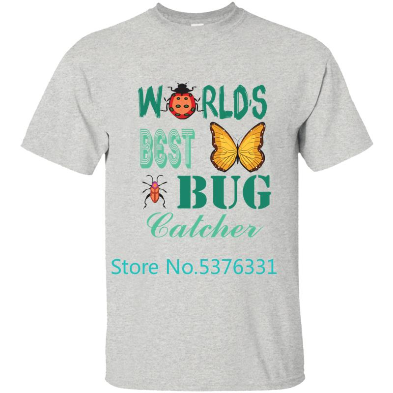 Bug Catcher barato T-shirt Camiseta Homens T-shirt Mens Streetwear Cotton Simples aptidão 2.020 Masculino Tamanho S-5XL 2020 Hiphop