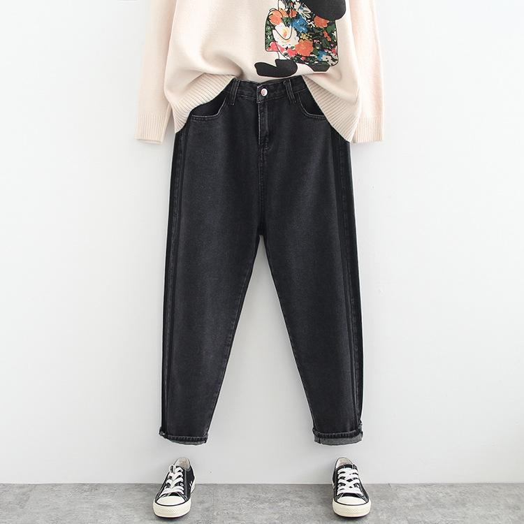 55YOV 200 jin irmã de gordura coreana Leggings leggingsunderpants leggingsstyle cintura alta emagrecimento jeans leggings outono coreano estilo mais pl gordura