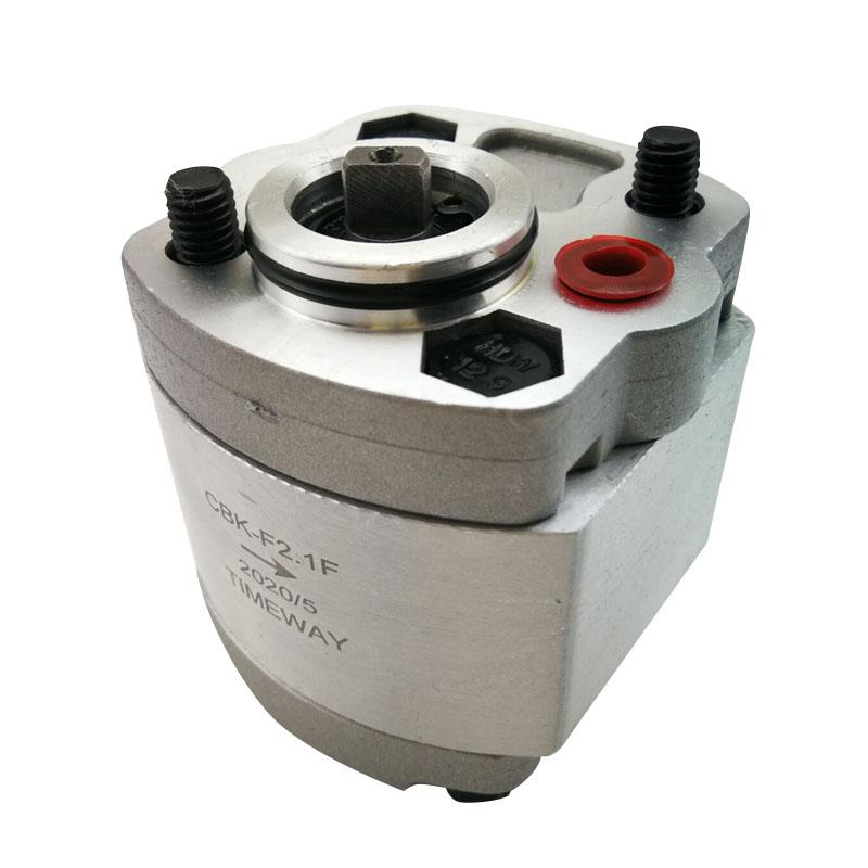 Gear pumps CBk-F1.0F CBk-F2.1F CBk-F3.0F high pressure oil pump CBk-F2.6F CBk-F1.2F 20mpa anclockwise aluminium alloy Hydraulic power unit