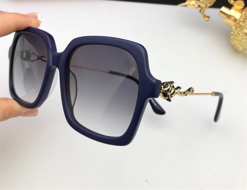 0145 gafas de sol para las mujeres populares del verano de moda de estilo de calidad superior UV400 lente conexión Ven Comen con el paquete rojo