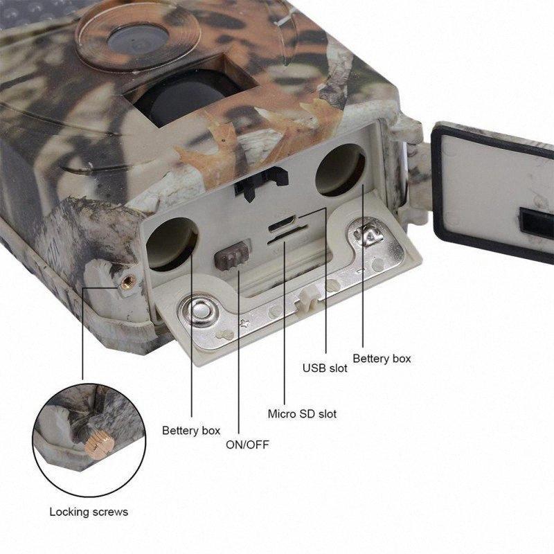 도매 사냥 PR100 사냥 카메라 사진 트랩 12MP 야생 동물 트레일 카메라 스카우트 게임 0lCl 번호
