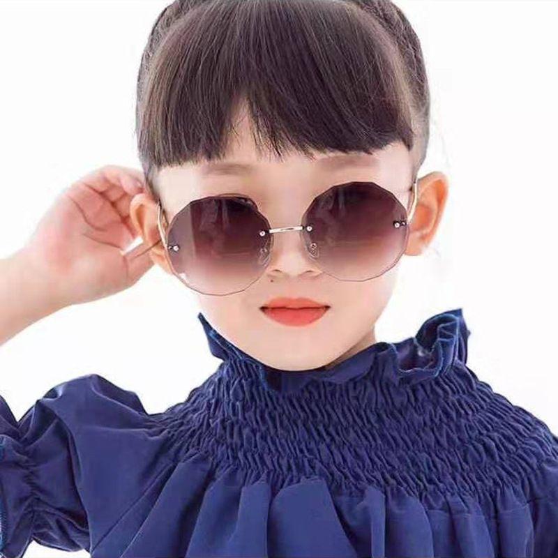 Óculos de sol de moda infantil sol personalizado de metal para crianças 605