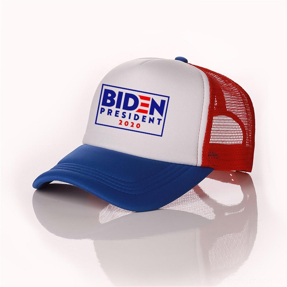 hkvZ5 Unisex BIDEN President WITH Baseball Hat Summer 2020 BIDEN Letters Print Ball Caps Mesh Patchwork RIDN Visors Outdoor Sports Headwear