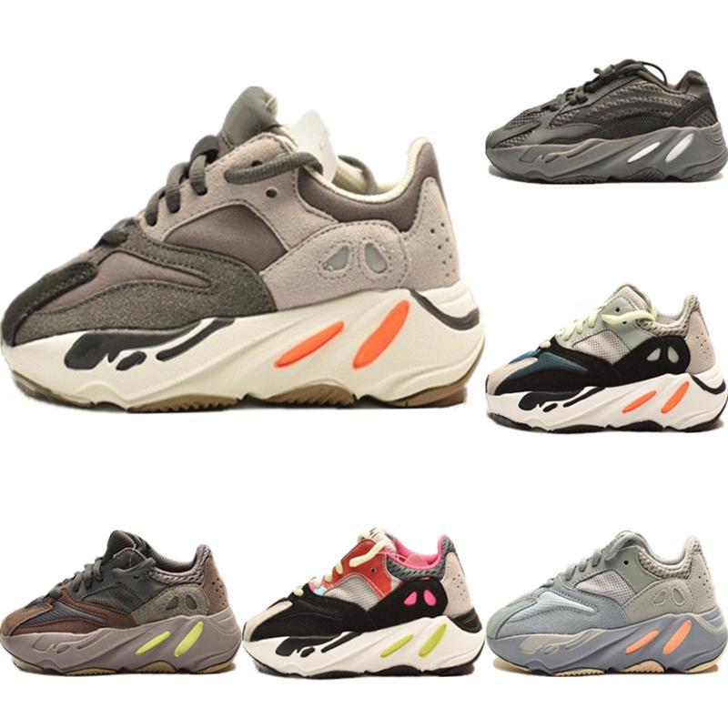 Avec Box 2020 Runner 700 V2 enfants Sports Reflective statique Chaussures Originals Kanye West 700 Runner Calabasas Inertie Chaussures Amorti Jogger