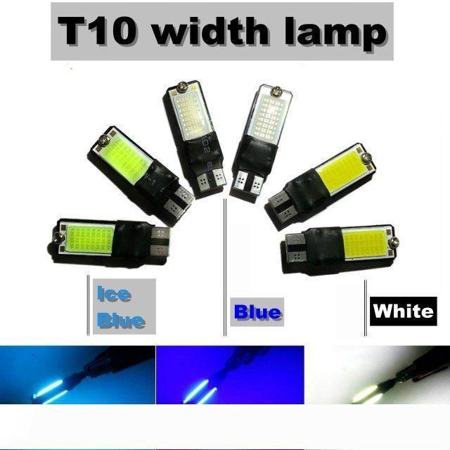 10W COB Meilleur Ridiculously lumineux T10 194 168 W5W NO ERROR LED haute puissance Ampoules de remplacement automatique d'éclairage