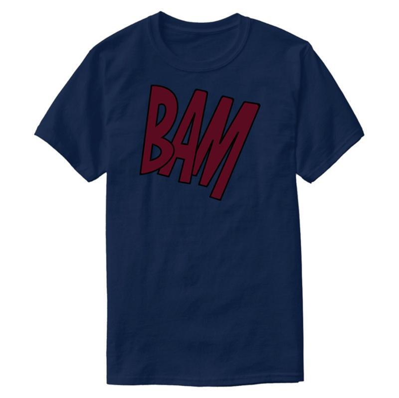 Create tasarlama Bam Tişört Erkekler Hipster Komik Streetwear Yenilik Erkekler Ve Kadınlar Tshirts 2020 Kısa Kol CAMISAS Gömlek için