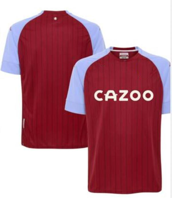 20-21 Aston camisas jerseys villa de futebol de futebol em casa Peter Withe Des Bremner Tony Morley Gary Shaw 2020 2021 Camiseta vermelho Maillot