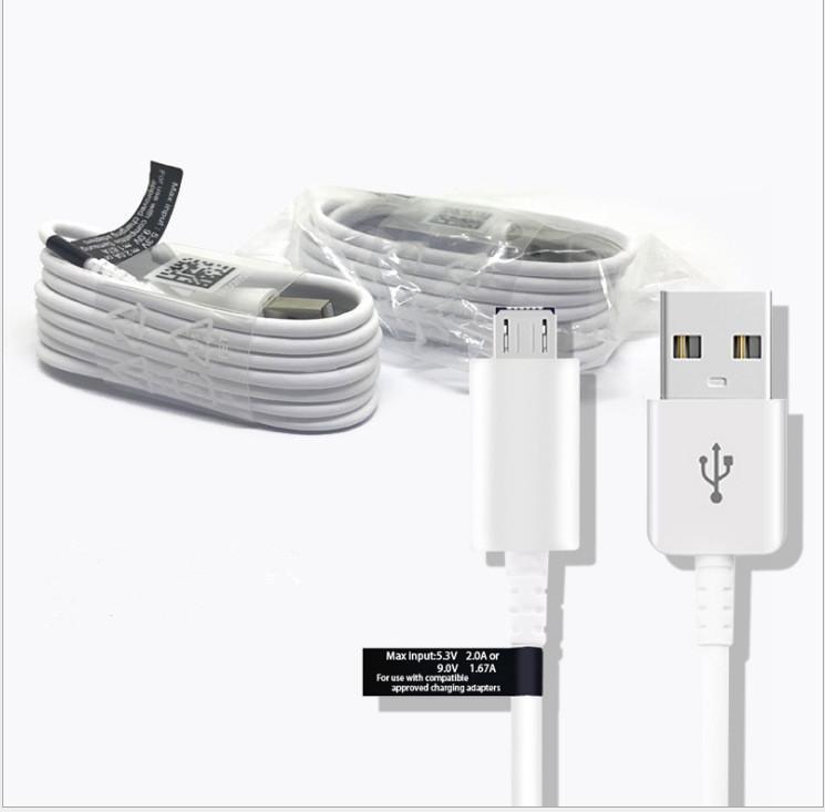 Per la galassia S6 S7 bordo originale del USB di ricarica veloce 1,2 m cavo della linea dati USB Charger cavo di linea Micro per il bordo HTC S6
