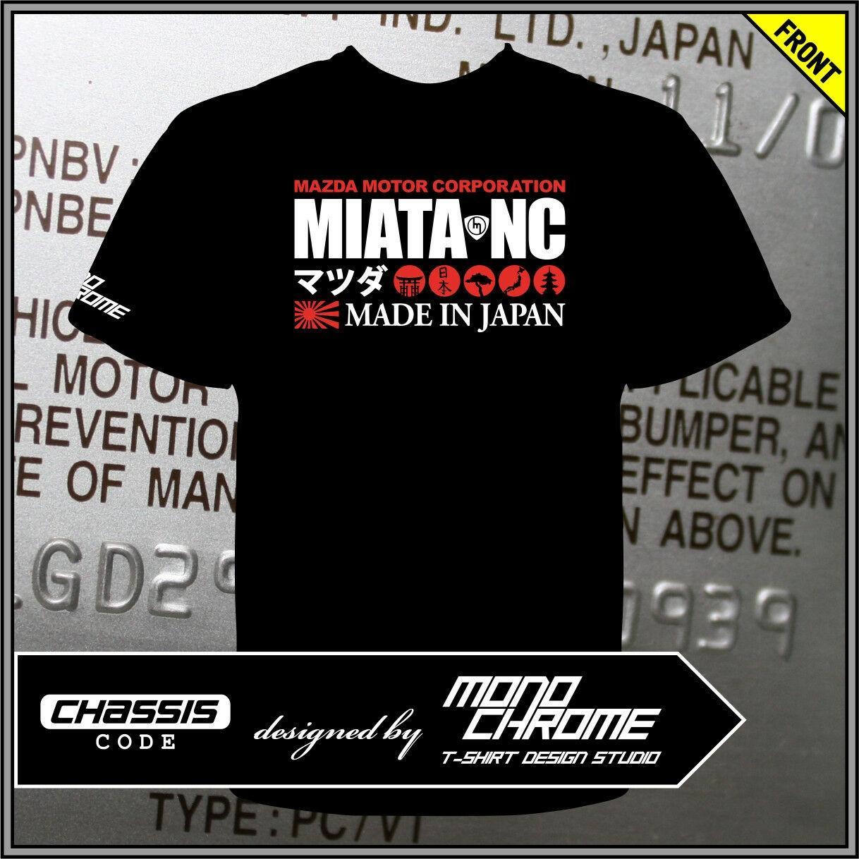Tişört Mazda Miata NC MX-5 Roadster Eunos