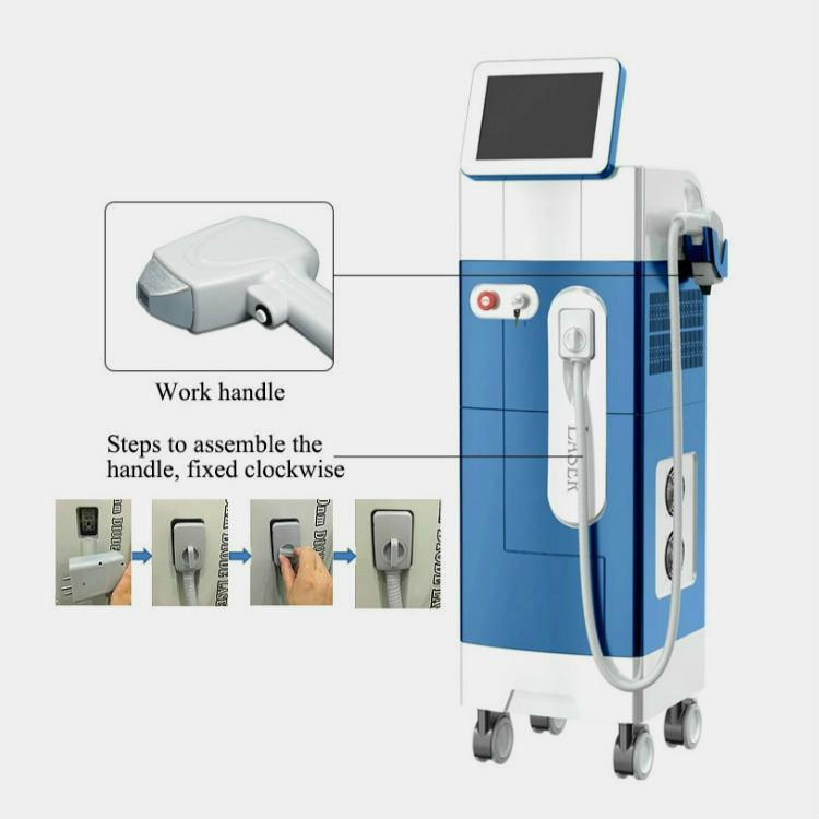 Beauty Laser Machine 808 Diode Laser Hair Removal Machine At Home
