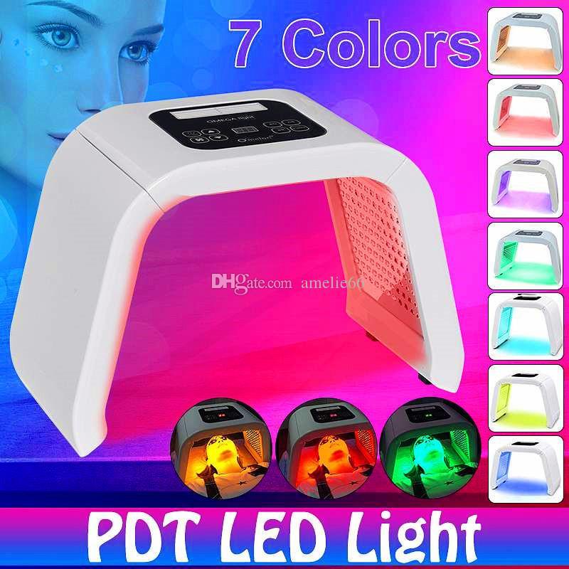 Горячие новые продукты PDT спектрограф LED красоты Фотон лица Светотерапия маска Отбеливание Угри против морщин для ухода за кожей