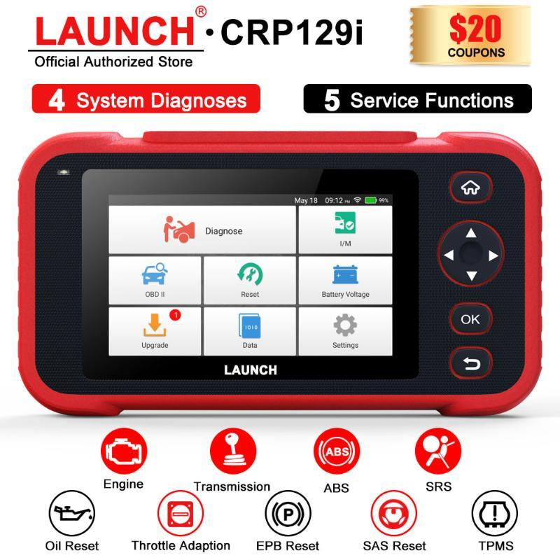 ENG / AT / ABS / SRS 다중 언어 무료 업데이트 CRP129E CRP129X CRP123X CRP123E에 대한 X431 CRP129i OBD2 진단 도구