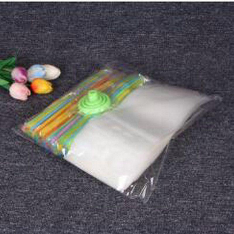 450мл Очистить Пейте сумки Сумки Heavy Duty Ручной полупрозрачный Многократно закрывающаяся Zipper Stand Up Пластиковые мешочков Сумки Питьевой Сумки Пластиковые mbHCC