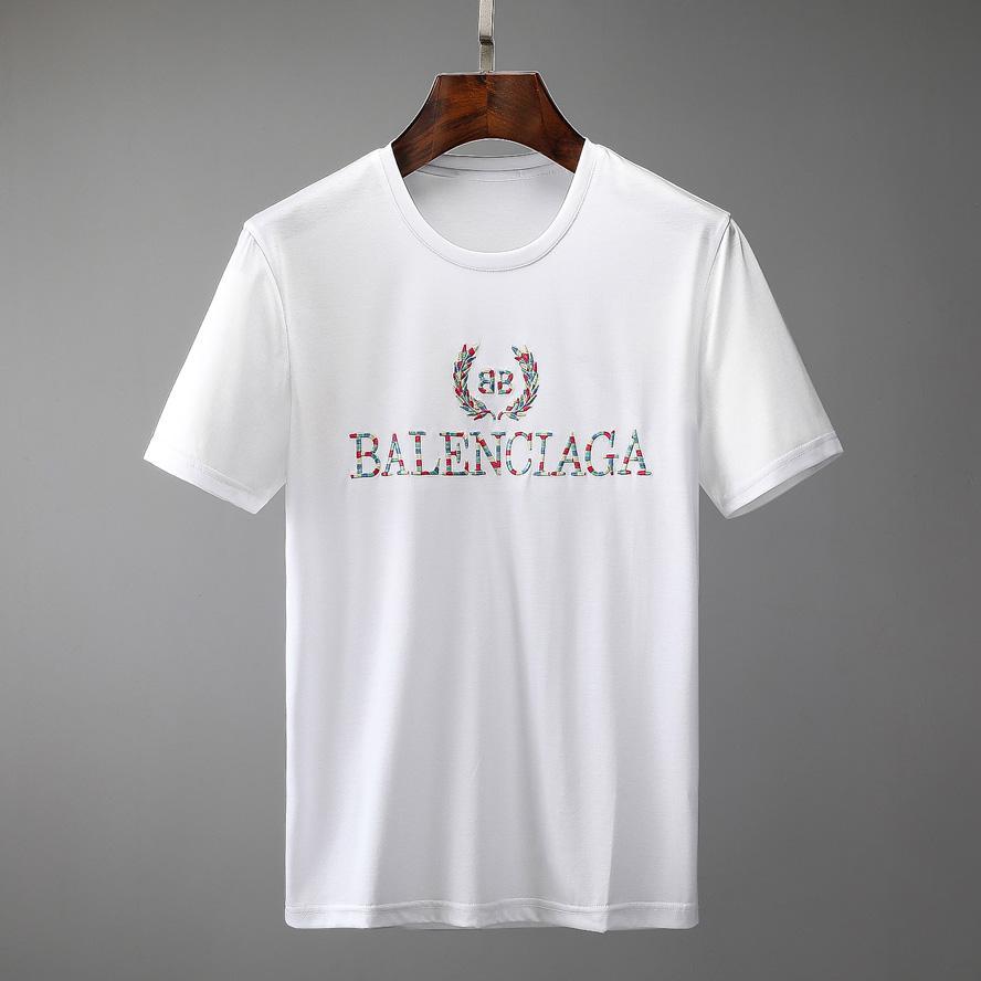 Para hombre de la moda del estilista camisetas del verano camiseta de la grúa impresión de alta calidad camiseta de Hip Hop Hombres Mujeres camisetas de manga corta del tamaño S-XXL