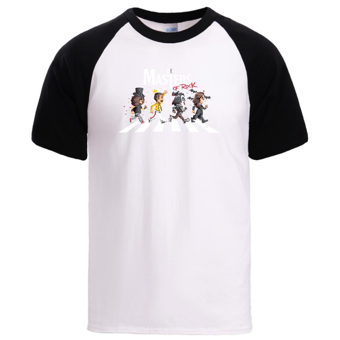 Masters Of Rock Estate magliette 2020 magliette Stampa T Tees Hot Anime Cartoon uomo manica corta in cotone sportivo Raglab Pullover