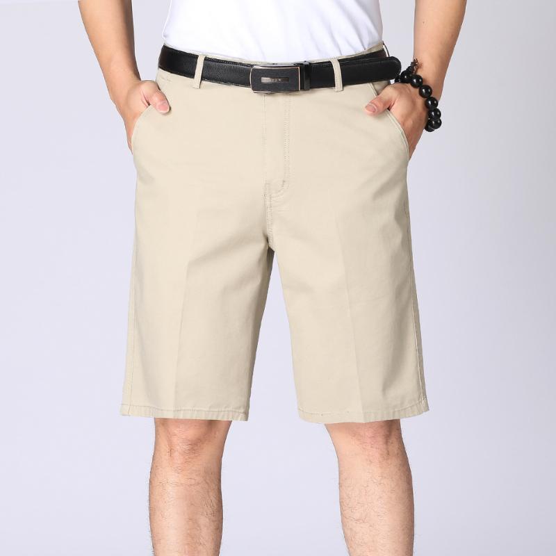 الرجال السراويل TFU 2021 الصيف الأعمال عارضة 100٪ قطن حك الرجال الأزياء بلون خمر غسلها جيوب البضائع