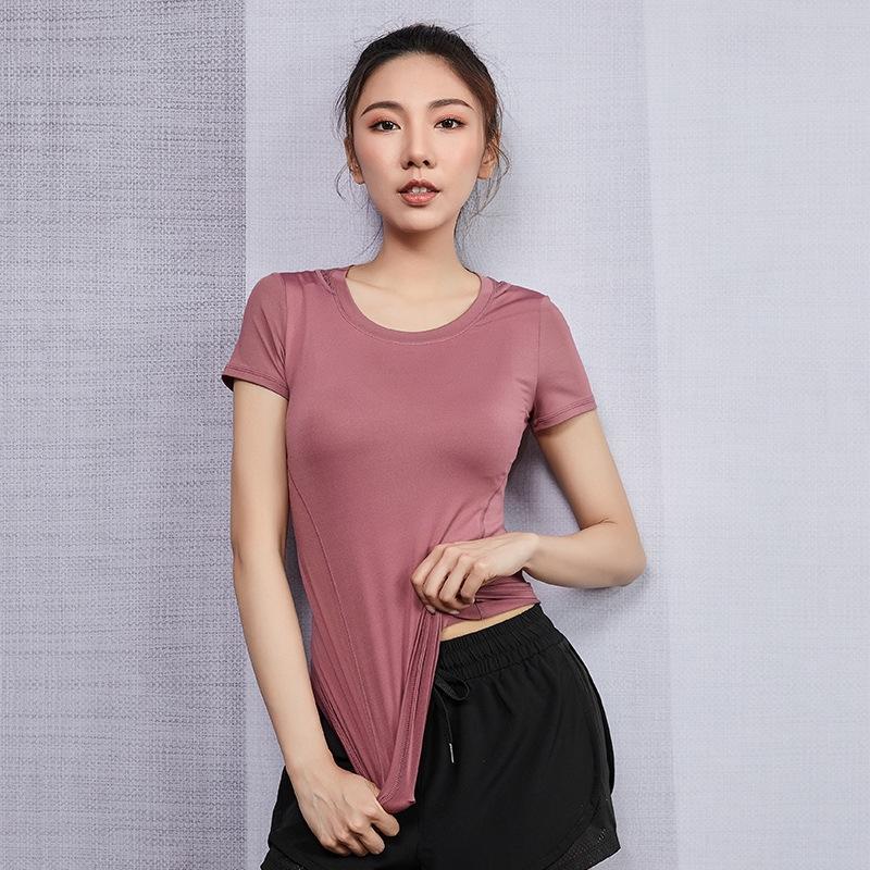 KKfw0 verano ropa de deporte de malla elástica de las mujeres de la ropa apretada ropa de yoga de secado rápido cordón de la ropa de yoga gimnasio tramo de malla cordón de las mujeres