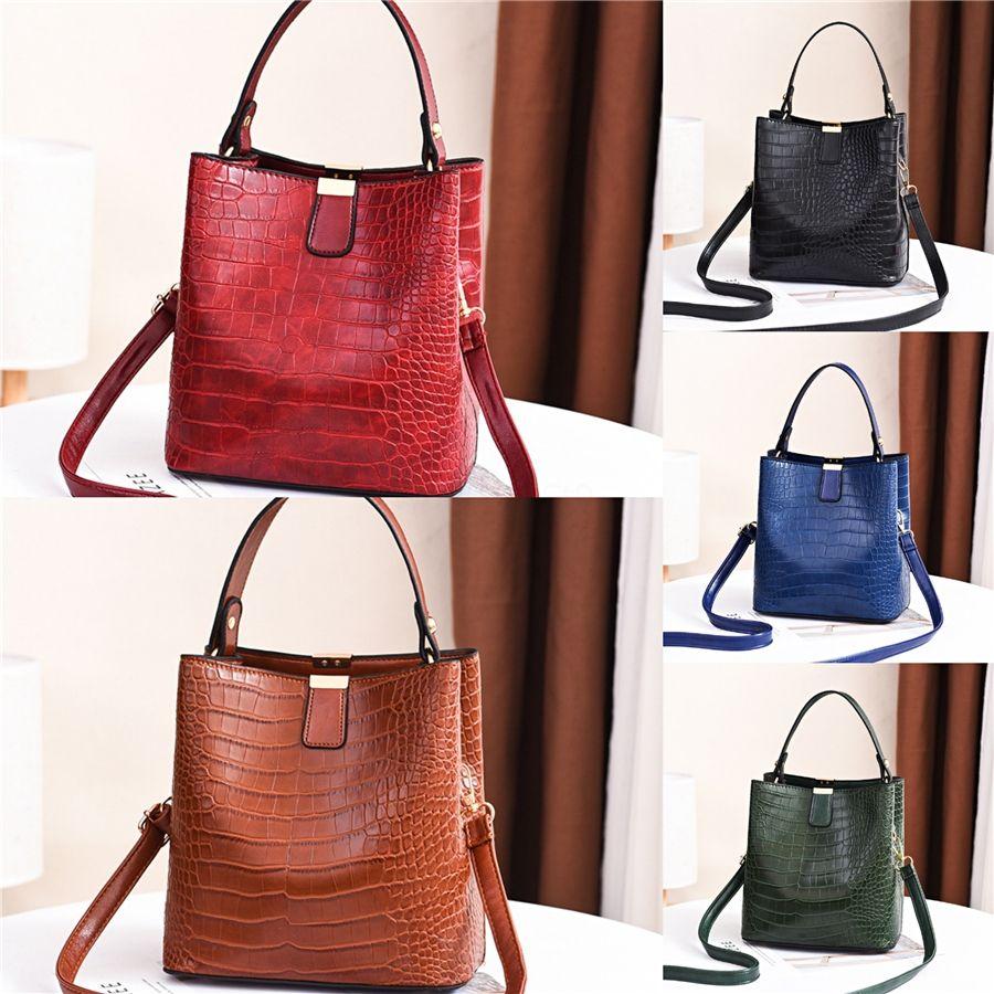 Women Bags Oil Wax Leather Handbags High Quality Solid Shoulder Bag Ladies Fashion Messenger Bolsas De Mujer A40#531